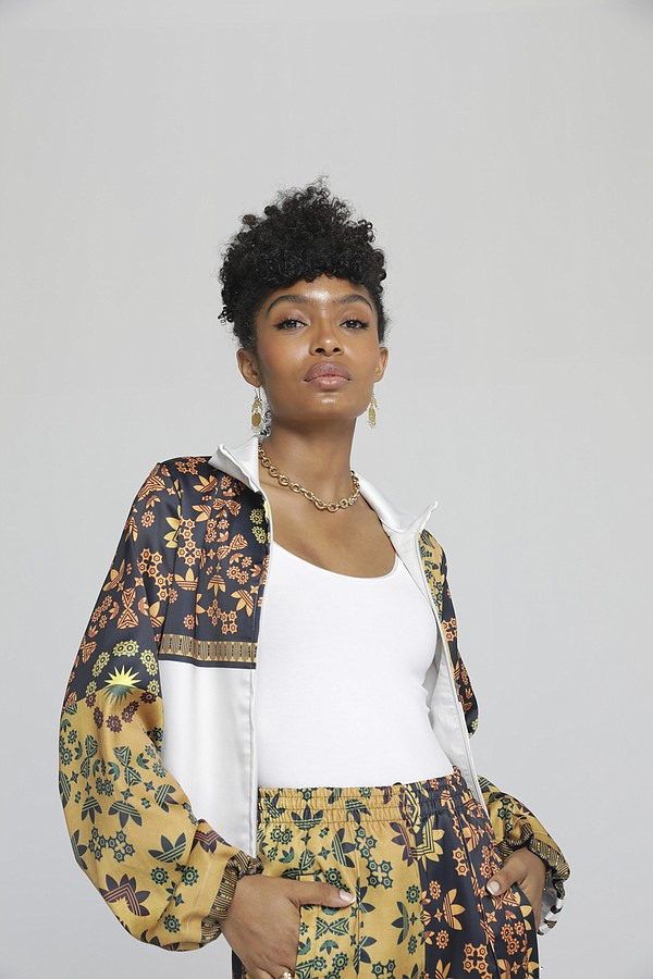 The Adidas Originals by Yara Shahidi collection offers pieces that pay homage to the actor's heritage and the next generation of changemakers. Photo: Adidas