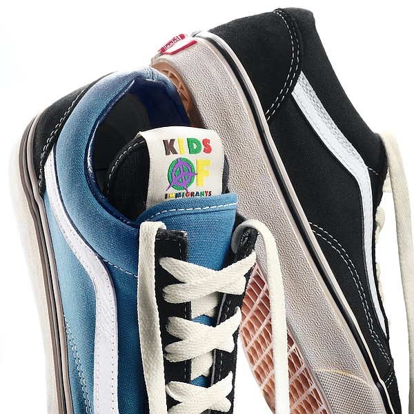 Kids of Immigrants celebrated its five-year anniversary by collaborating with Vans for a new shoe. Photo: Vans.