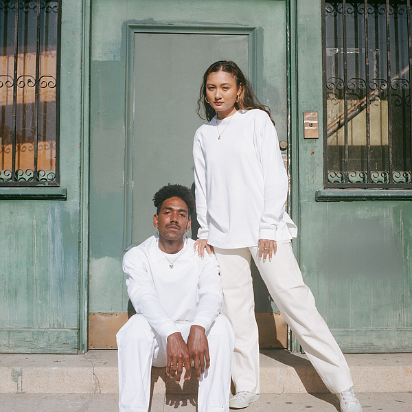 Working with designer and sustainability advocate, Madeleine Lyon, textile upcycler Ambercycle recently released the Cycora x MsLyon collection dropped on May 18 with its Cycora by Ambercycle a system that produces yarns to create new clothing from textile waste. Photo: Ambercycle