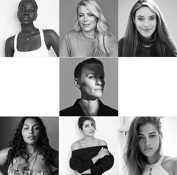 The VS Collective by Victoria's Secret includes inaugural members Adut Akech, Amanda de Cadenet, Eileen Gu, Megan Rapinoe, Paloma Elsesser, Priyanka Chopra Jonas and Valentina Sampaio.  Photo: Victoria's Secret