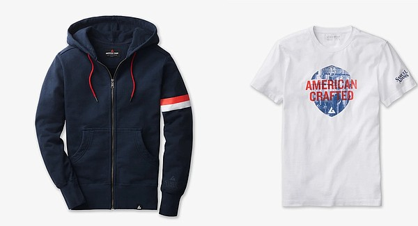 This Fourth of July, domestically made United States apparel brand American Giant collaborated with U.S. brewery Samuel Adams to create a line of American Crafted products to celebrate the holiday. Photos: American Giant