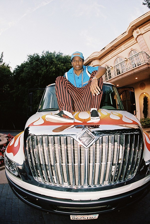PacSun and A$AP Rocky recently released their first collaboration since the musical artist was announced as the brand's first guest artistic director.  Photo: PacSun