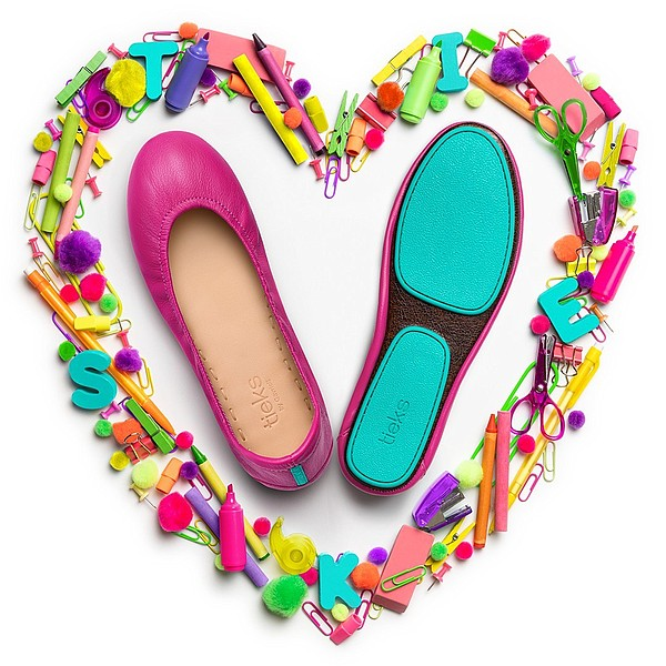 Giving back to teachers, Tieks is providing a special offer to educators during this back-to-school season, as the Los Angeles footwear company continues to give back to the community.    Photo: Tieks