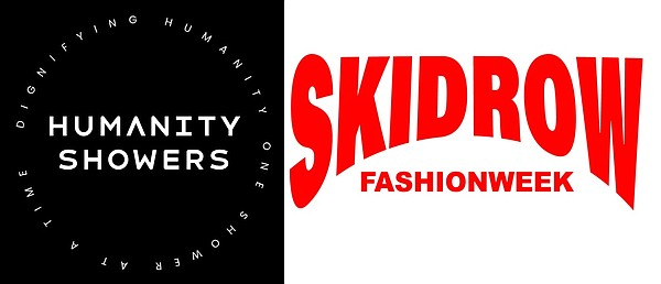 On Aug. 21, Skidrow Fashion Week and Humanity Showers will host a shower pop-up event through Project Give a F@#k, which will benefit Los Angeles' homeless population by providing complimentary showers, haircuts, food and a clothing drive.  Image: Skidrow Fashion Week and Humanity Showers