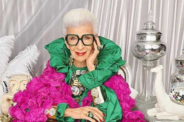 Celebrating the 100th birthday of style icon Iris Apfel, Novato, Calif., online eyewear retailer Zenni unveiled its Iris Apfel Zentennial Collection.  Photo: Zenni