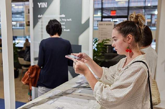 Texworld New York City returned to hosting on-site shows last month, as it introduced a hybrid model.   Photo: Messe Frankfurt Inc.