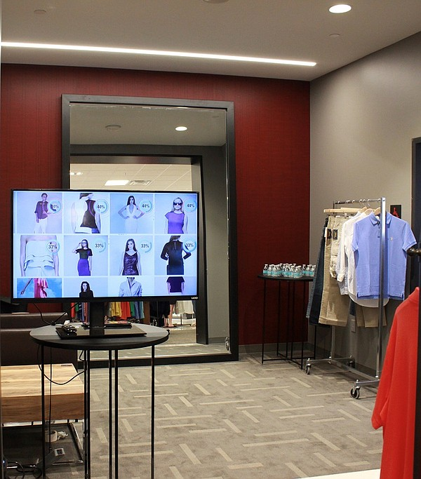 FIT:MATCH offers 3D AI-powered technology to match shoppers with items in a store that will provide a perfect fit.  Photo: FIT:MATCH