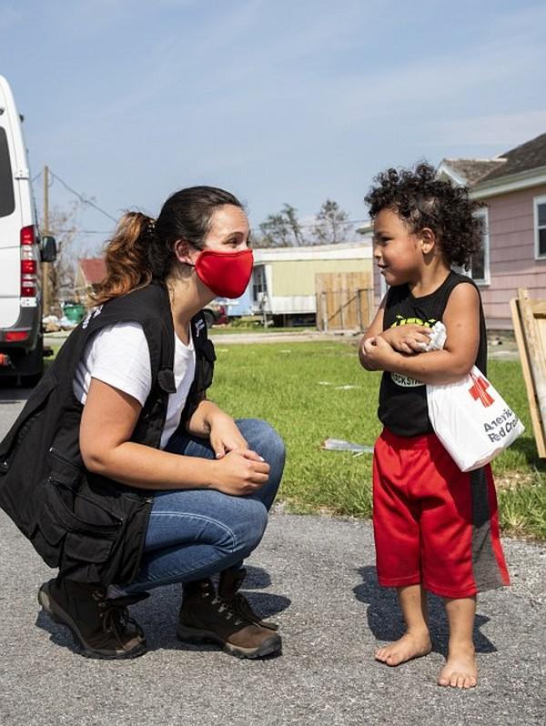 The Red Cross responds to more than 60,000 disasters every year. AG Jeans hopes its donation will help bring awareness to disaster relief. Photo: The American Red Cross