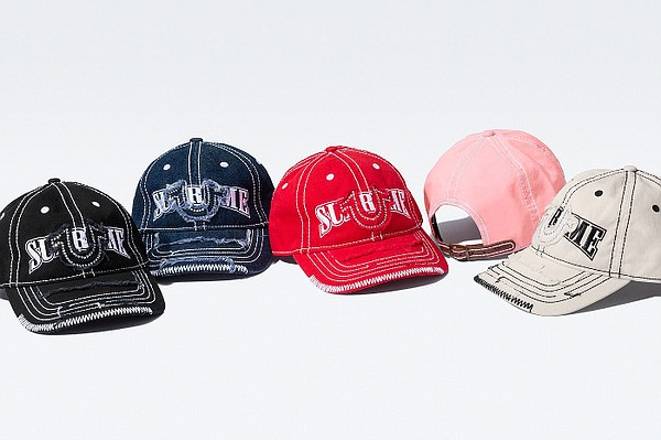 Supreme and True Religion recently partnered on a collaborative collection that features pieces such as a denim trucker jacket, denim cargo pant and a six-panel hat that will be available at a later date.  Photo: Supreme