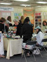 Finding Inspiration at L A  Textile Show | California